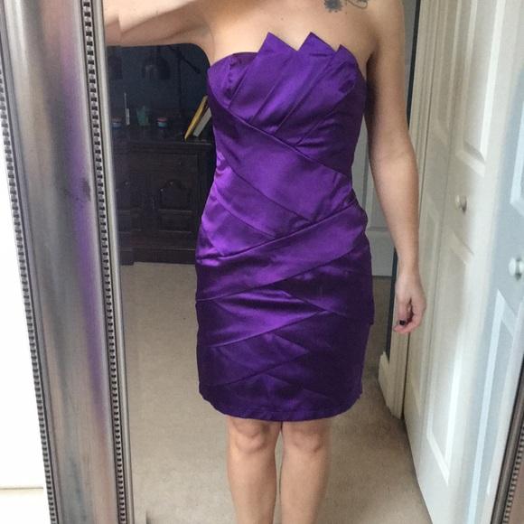 Cache Coeur Dresses & Skirts - Short Purple formal !